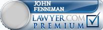 John Fenniman  Lawyer Badge