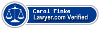 Carol Murphy Finke  Lawyer Badge