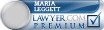 Maria M Leggett  Lawyer Badge