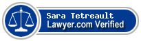 Sara Tetreault  Lawyer Badge