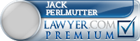 Jack Perlmutter  Lawyer Badge