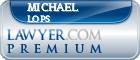 Michael Thomas Lops  Lawyer Badge