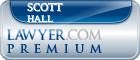 Scott Lwayne Hall  Lawyer Badge