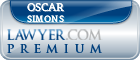 Oscar Enrique Simons  Lawyer Badge