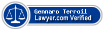 Gennaro G. Du Terroil  Lawyer Badge
