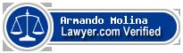 Armando Javier Molina  Lawyer Badge
