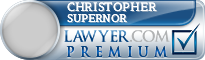 Christopher Marc Supernor  Lawyer Badge
