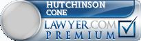 Hutchinson I Cone  Lawyer Badge