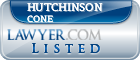 Hutchinson Cone Lawyer Badge