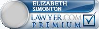 Elizabeth Ann Simonton  Lawyer Badge