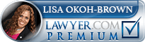 Lisa M. Okoh-Brown  Lawyer Badge
