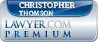 Christopher Robert Thomson  Lawyer Badge
