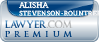 Alisha Stevenson-Rountree  Lawyer Badge