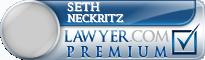 Seth Stuart Neckritz  Lawyer Badge