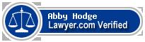 Abby Sue Hodge  Lawyer Badge