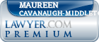 Maureen Cavanaugh-Middleton  Lawyer Badge