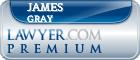 James Hogue Gray  Lawyer Badge