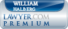 William Sarns Halberg  Lawyer Badge