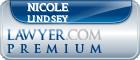 Nicole Lindsey  Lawyer Badge