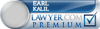 Earl Lynn Kalil  Lawyer Badge