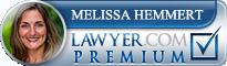 Melissa Brady Hemmert  Lawyer Badge