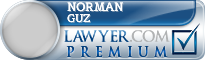 Norman J. Guz  Lawyer Badge