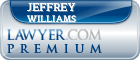 Jeffrey Ross Williams  Lawyer Badge