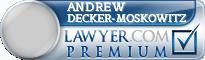 Andrew Joseph Decker-Moskowitz  Lawyer Badge