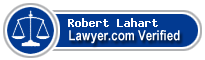 Robert Lahart  Lawyer Badge