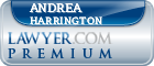Andrea C. Harrington  Lawyer Badge