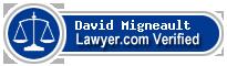 David Joseph Migneault  Lawyer Badge