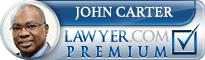 John Kinnley Carter  Lawyer Badge