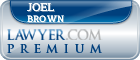 Joel Brown  Lawyer Badge