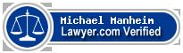 Michael A. Manheim  Lawyer Badge