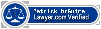 Patrick McGuire  Lawyer Badge