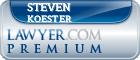 Steven Koester  Lawyer Badge