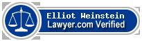 Elliot M. Weinstein  Lawyer Badge