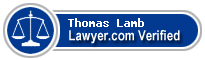 Thomas J. Lamb  Lawyer Badge