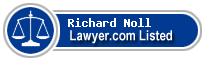 Richard Noll Lawyer Badge