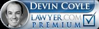 Devin Coyle  Lawyer Badge