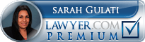 Sarah Gulati  Lawyer Badge
