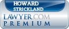 Howard Jerome Strickland  Lawyer Badge