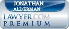 Jonathan Augustus Alderman  Lawyer Badge