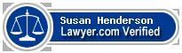 Susan Lee Henderson  Lawyer Badge