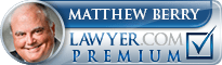 Matt Berry  Lawyer Badge