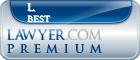 L. Dean Best  Lawyer Badge