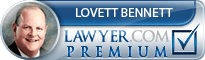 Lovett Bennett  Lawyer Badge