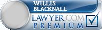 Willis H. Blacknall  Lawyer Badge