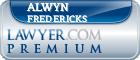 Alwyn Robert Fredericks  Lawyer Badge