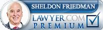 Sheldon E. Friedman  Lawyer Badge
